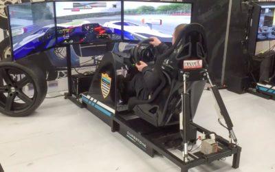 Huur een race simulator bij Mach1