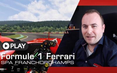 Rijden met een F1 auto op Spa-Francorchamps