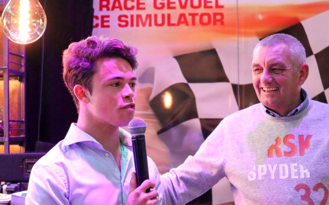Nyck de Vries en Allard Kalff rijden met Mach1