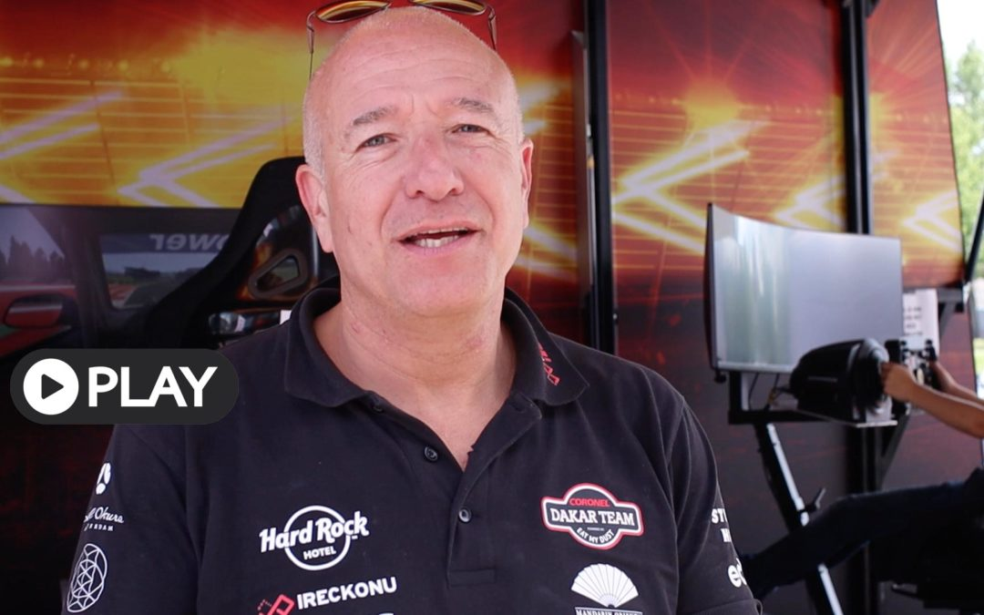 Video: Tim Coronel over Mach1 Race Experience