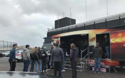 Gezelligheid met Mach1 op race events in Zandvoort